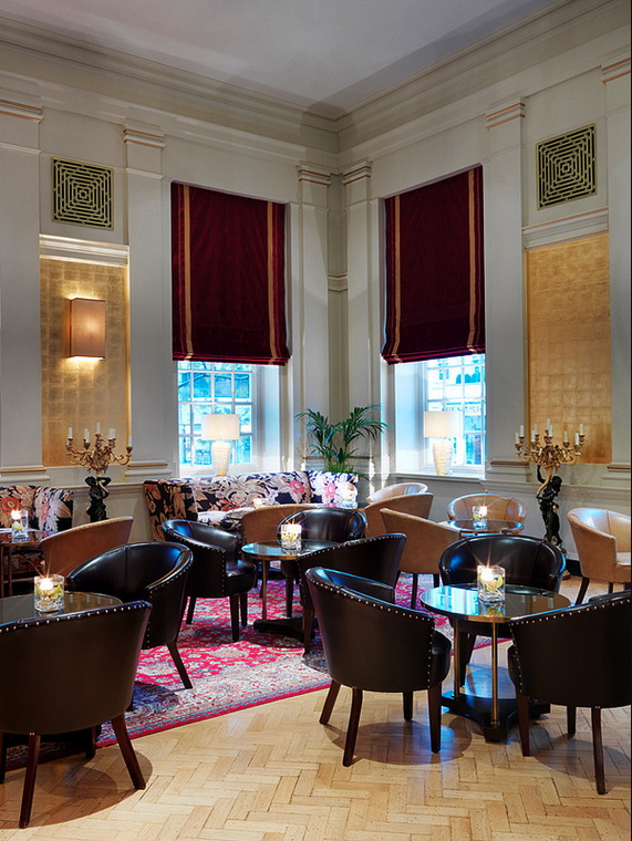 Interiors The Bloomsbury Hotel London UK