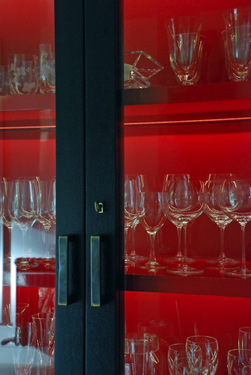 HOUSE AT CARRICKMINES| FURNITURE | GLASS CABINET