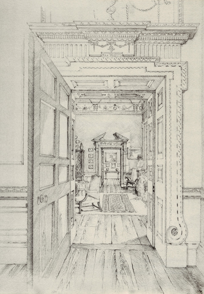 Sketch Interior Sheehan and Barry Architects