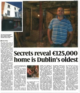 130 Thomas Street- Sunday times 11 Oct 15 article