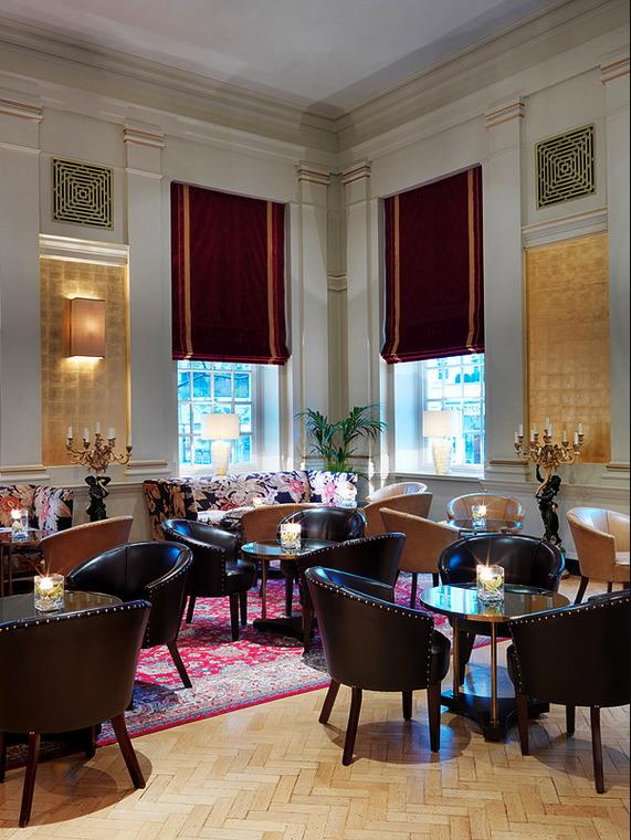 Interiors The Bloomsbury Hotel London UK