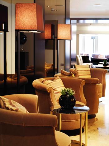 Lounge Interior The Marylebone Hotel, London UK
