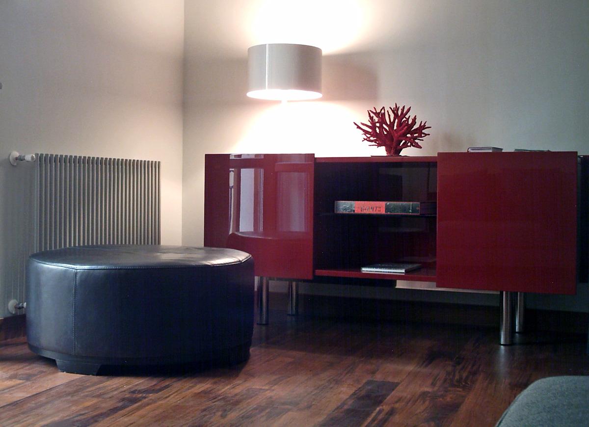 Domestic Interior Private Apartment Milan